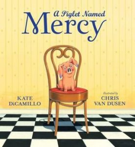 A piglet named mercy book cover